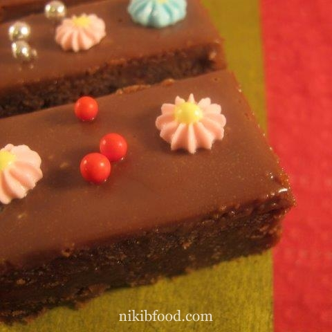 Chocolate cake fingers