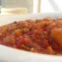Tomatoes and lentils recipe