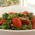 Lentil Salad and Herbs