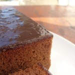 Chocolate Halva Cake