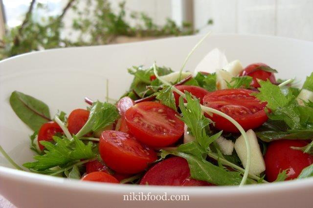 baby green salad recipe