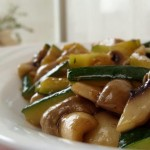 Stir Fried Zucchini and Mushrooms