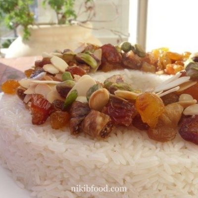 Rice with Dry Fruit