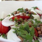 Black eyed peas salad recipe