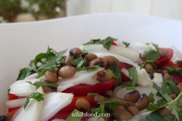 Black eyed peas salad recipe