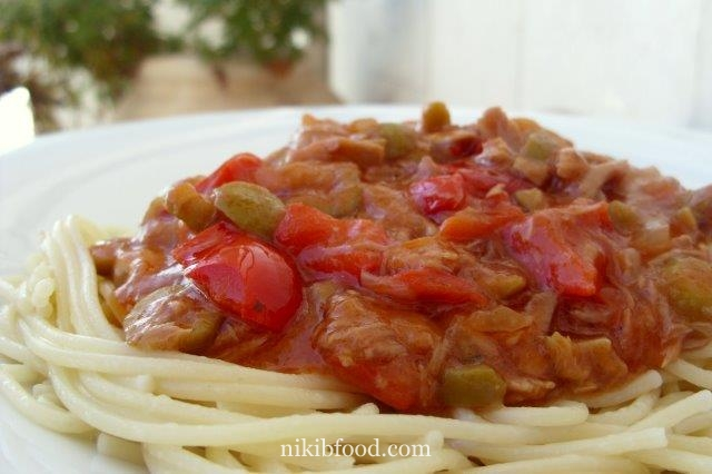 Pasta With Tuna Sauce Recipe