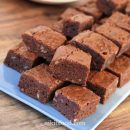 Brownies with gluten free flour