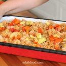 Chicken and rice and veggies recipe