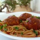 Meatballs and spaghetti recipe