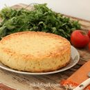 Crustless corn quiche recipe