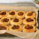 Pastry with meat vegetables - lahmacun