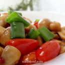 Sauteed mushrooms and cherry tomatoes