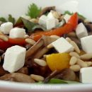 Mix of Sweet Potatoes and Peppers Salad