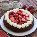 Chocolate cake with gluten free flour
